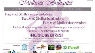 Mulheres Brilhantes – 14 03 18