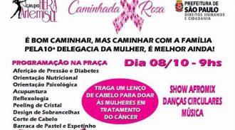 Programação Outubro Rosa Grupo Hera ArtemiSul Pela Prevenção Do Câncer De Mama