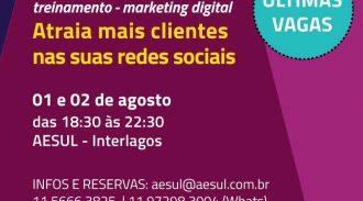 Empresa Associada à AESUL Realizará Treinamento De Mídias Sociais Na Sede Da Entidade