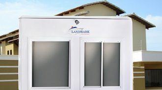 Empresa Associada Landmark Participa Da 20ª Edição Da EXPOSEC Com Guaritas De Segurança Com Energia Renovável