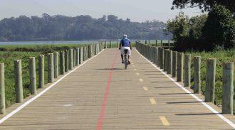 Circuito Turístico Da Represa Guarapiranga Ganha Mais 1,5 Quilômetro De Ciclovia