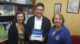 Visita Do Presidente Juarez Aos Associados