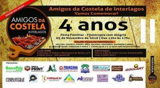 Dia 5 De Novembro O Clube Amigos Da Costela Interlagos Comemora Quatro Anos Com Evento Para Toda Família