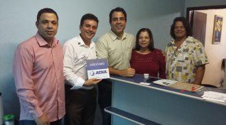 Visita Do Presidente Juarez Aos Associados 20 De Agosto