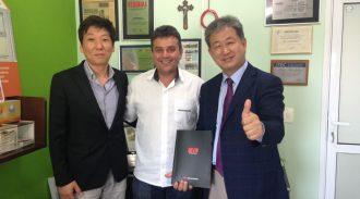 Presidente Da AESUL Recebe Visita De Empresários Coreanos