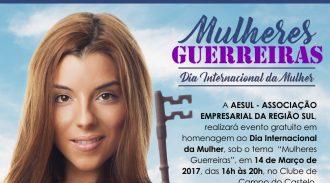 Evento Gratuito Da AESUL No Clube Castelo Celebrará O Dia Internacional Da Mulher