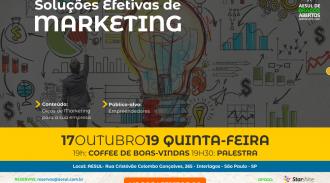 Soluções Efetivas De Marketing – Palestra Gratuita