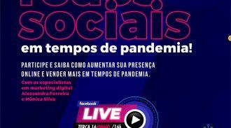 Live: Como Vender Nas Redes Sociais Em Tempos De Pandemia