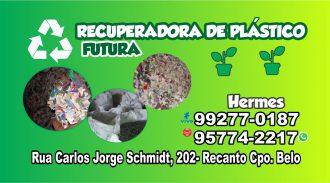 Recuperadora De Plástico Futura